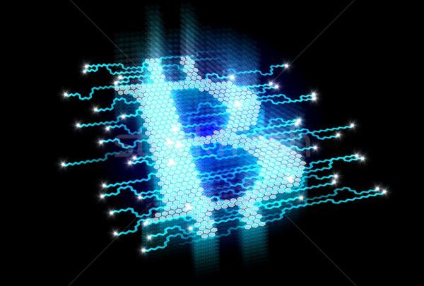 Bitcoin Concept Stock photo © mechanik