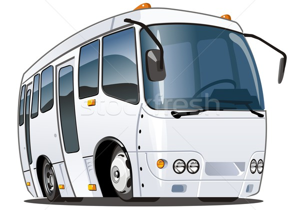 Vector cartoon bus Stock photo © mechanik