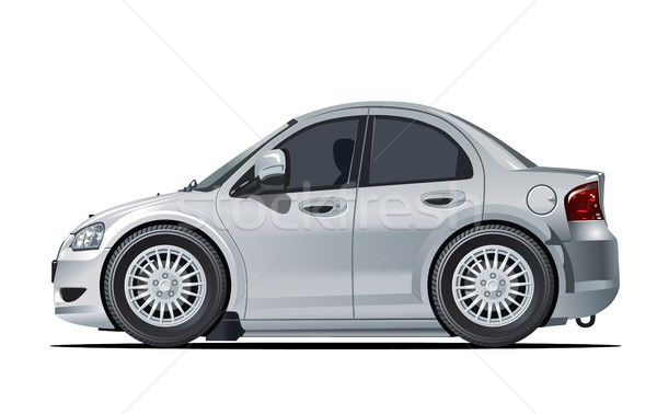 Cartoon vector car Stock photo © mechanik