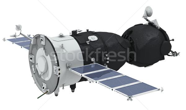 Spaceship isolated Stock photo © mechanik