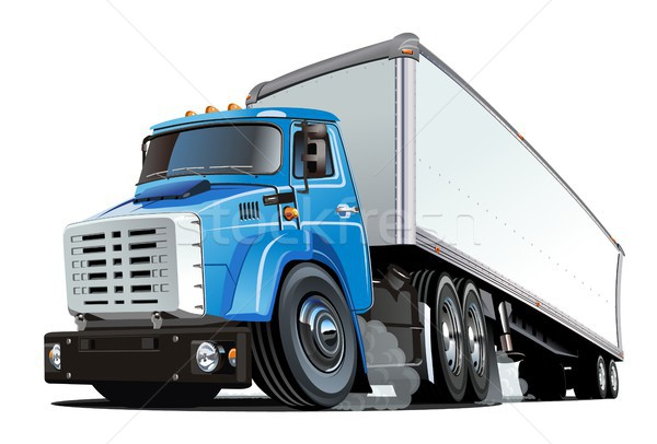 Desenho · animado · caminhão · eps10 · vetor · formato · grupos ...