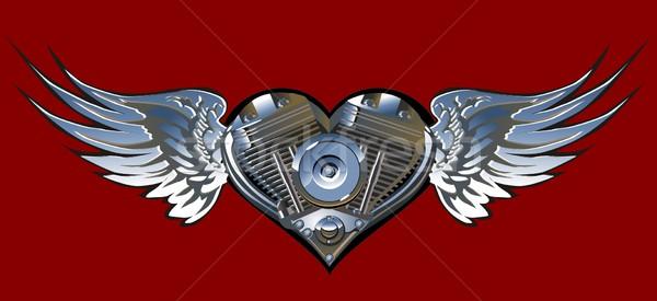 Motorheart Stock photo © mechanik