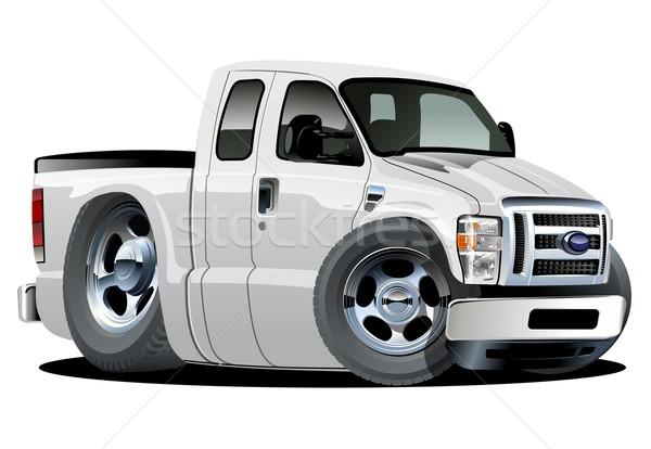Vector cartoon pickup Stock photo © mechanik