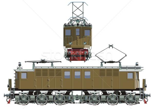 locomotive Stock photo © mechanik