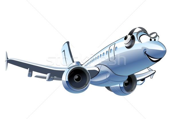 Vector Cartoon Airliner Stock photo © mechanik