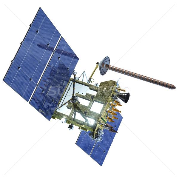 Moderne navigatie satelliet computer technologie kunst Stockfoto © mechanik