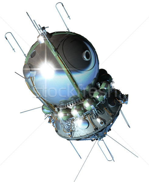 The first spaceship Stock photo © mechanik