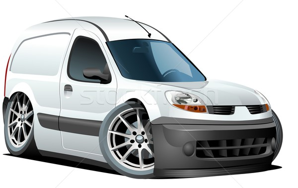 Vektor rajz kisteherautó formátum csoportok könnyű Stock fotó © mechanik