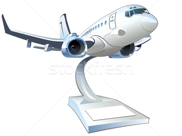 Vector Cartoon Airliner Stock photo © mechanik