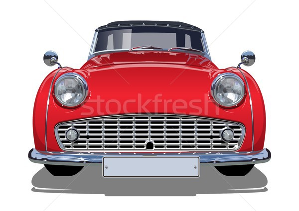 Stockfoto: Vector · retro · auto · eps10 · formaat · groepen