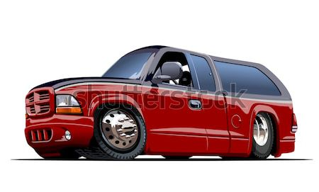 Vector retro car Stock photo © mechanik