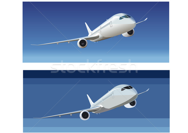 Boeing - 787 Dreamliner Stock photo © mechanik