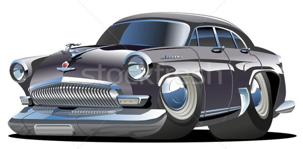 Vector cartoon retro car Stock photo © mechanik