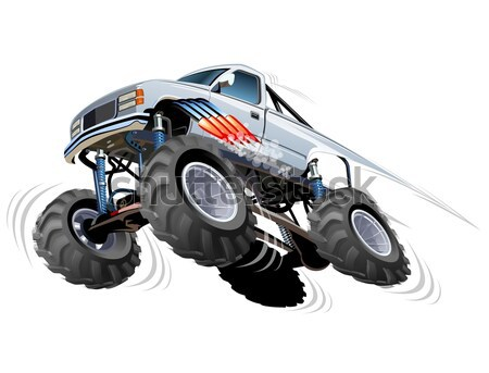 Monster Truck Stock photo © mechanik