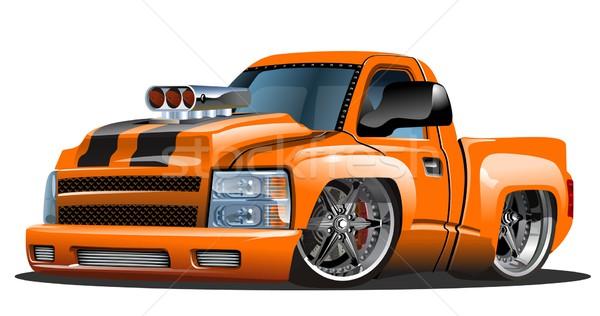 Cartoon vecteur hot rod eps10 format groupes Photo stock © mechanik