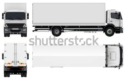 Delivery / Cargo Truck Stock photo © mechanik