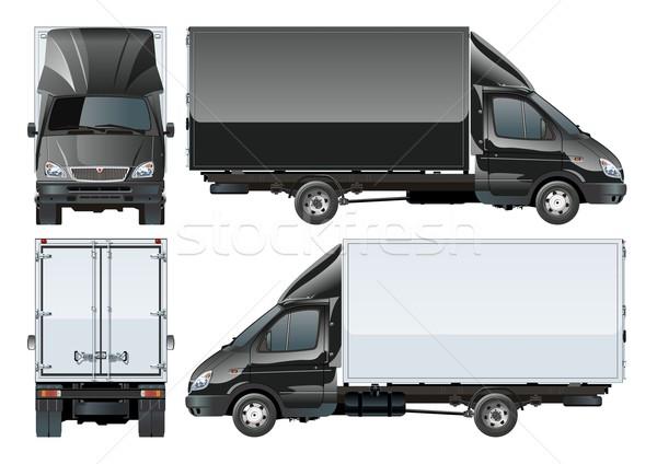 Delivery Cargo Truck Stock photo © mechanik