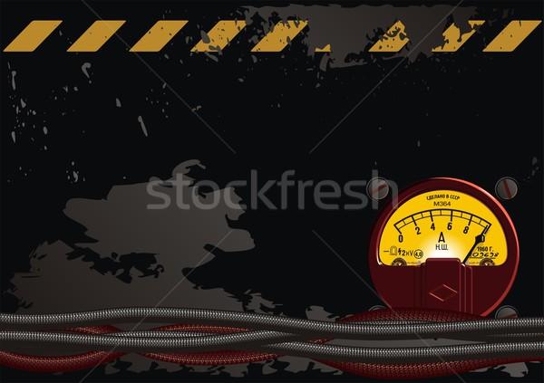 electrical grunge background Stock photo © mechanik