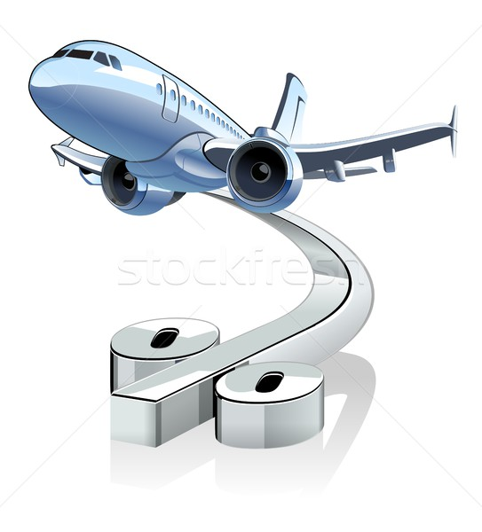 Vetor desenho animado desconto percentagem eps10 formato Foto stock © mechanik