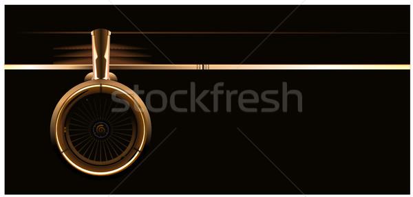 wing with turbine Stock photo © mechanik