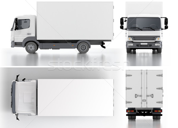 Stock photo: Delivery / Cargo Truck