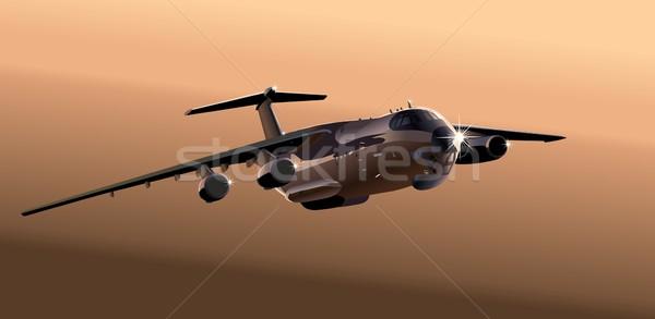 Stock photo: cargo airplane