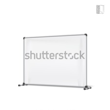 реклама Баннеры щит шаблон иллюстрация Сток-фото © Mediaseller