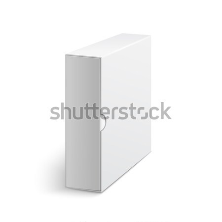 Beyaz gri kutu kapak grup kitaplar Stok fotoğraf © Mediaseller