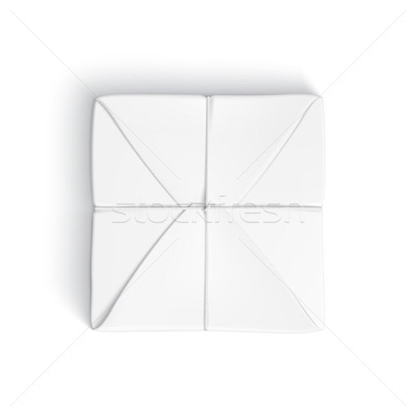 реалистичный шаблон вверх белый бумаги Сток-фото © Mediaseller