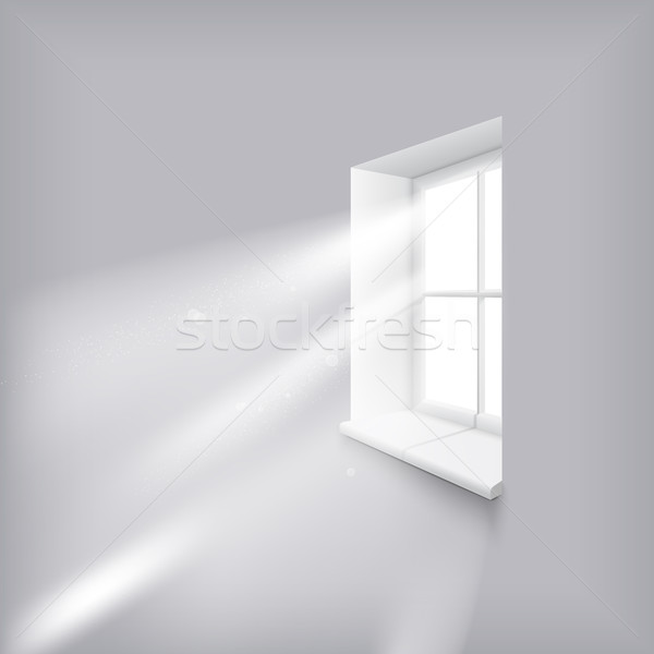 Słońca okno słońce promienie ściany Zdjęcia stock © Mediaseller