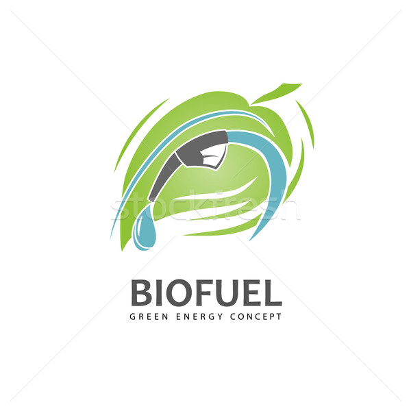 Eco fuel sign Stock photo © Mediaseller