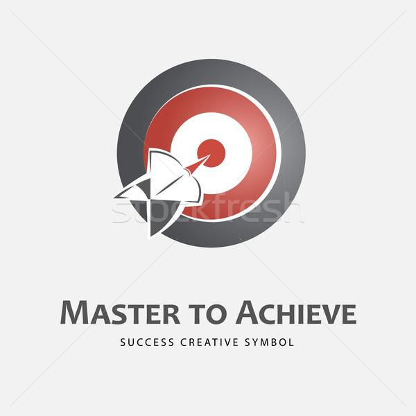 Achieving logo template Stock photo © Mediaseller