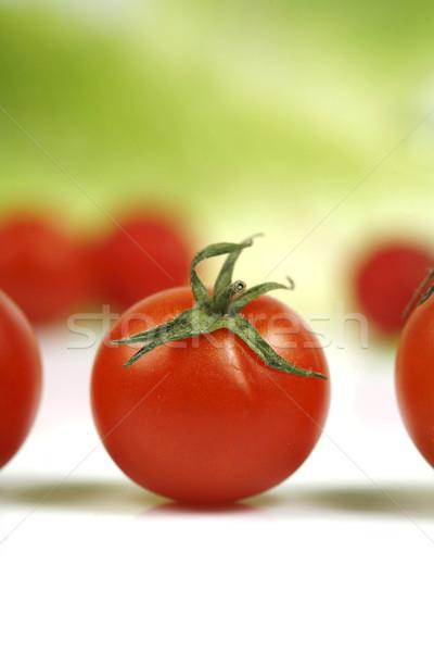Tomaat voedsel vruchten achtergrond groene kok Stockfoto © mehmetcan