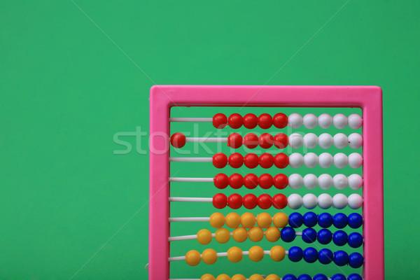 Abacus gericht schieten Stockfoto © mehmetcan