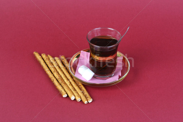 Turks thee voedsel achtergrond groene ontbijt Stockfoto © mehmetcan