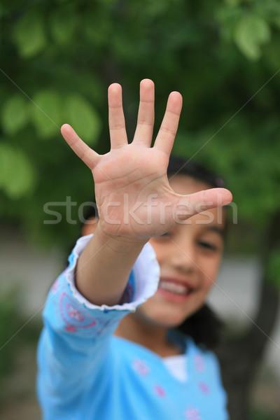 little girls Stock photo © mehmetcan
