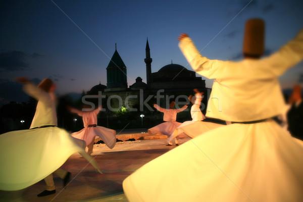 dancer dervish Stock photo © mehmetcan