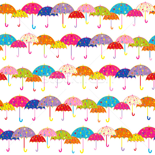 Coloré parapluie fond pluie automne Photo stock © meikis