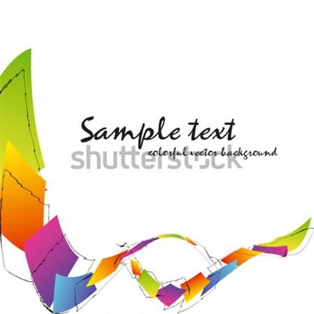 Photo stock: Résumé · coloré · carré · cadre · web · wallpaper