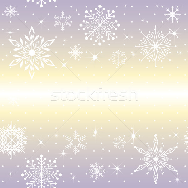 Christmas snowflake on purple background Stock photo © meikis