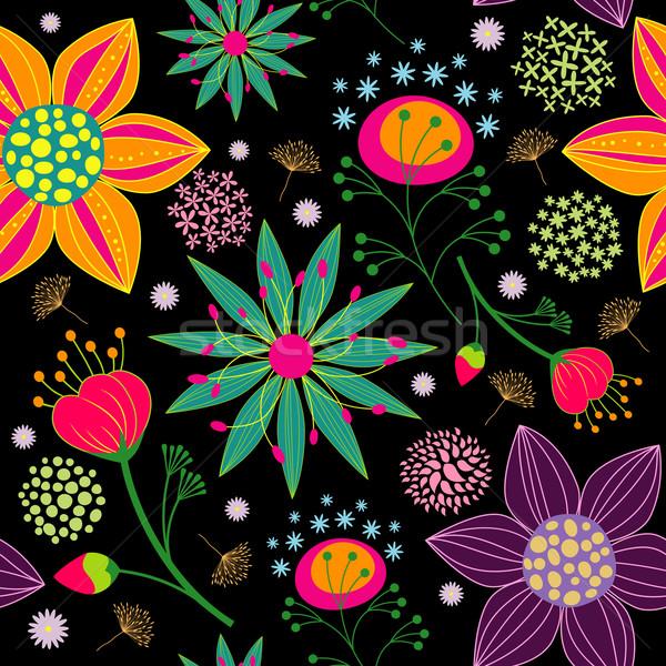 カラフル 花 春 夏 抽象的な ストックフォト © meikis