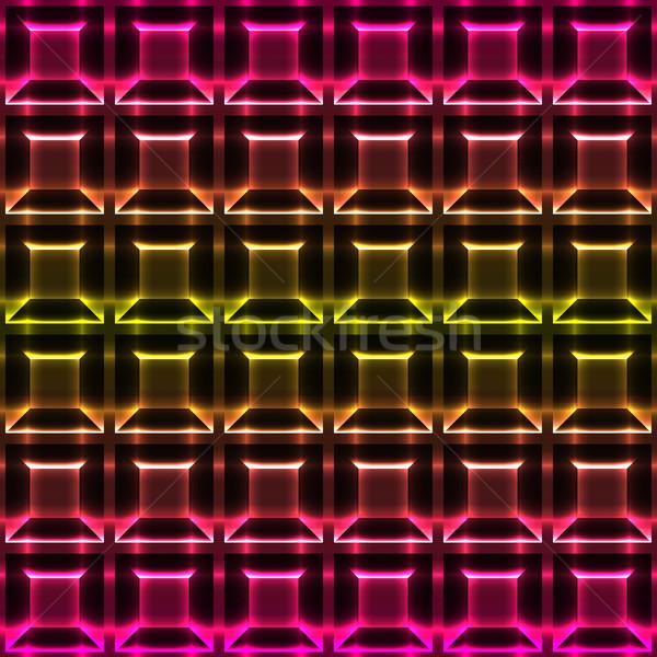 Résumé coloré géométrique wallpaper design fond Photo stock © meikis