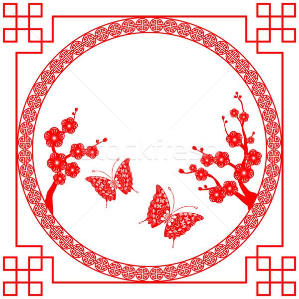 Stock photo: Chinese New Year greeting card