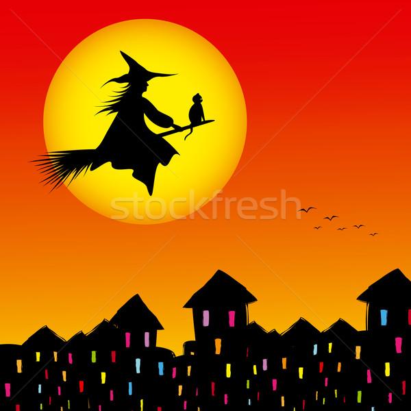 Halloween background  Stock photo © meikis