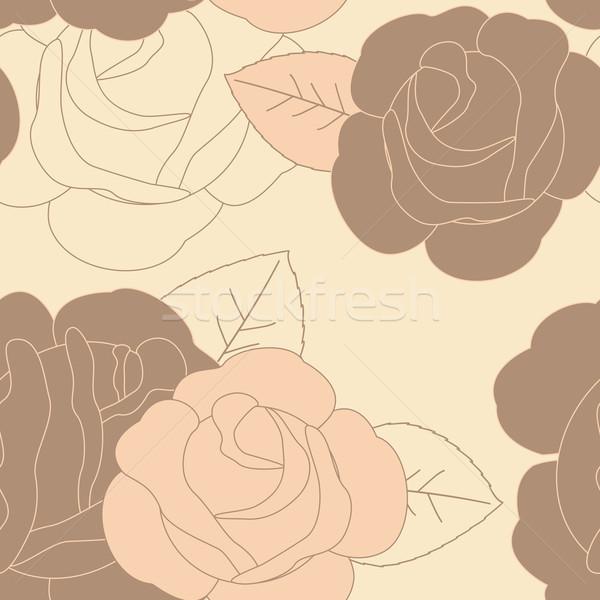 Photo stock: Résumé · fleur · printemps · design