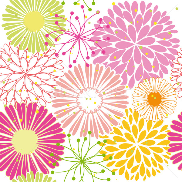 весна красочный цветок аннотация зеленый Сток-фото © meikis