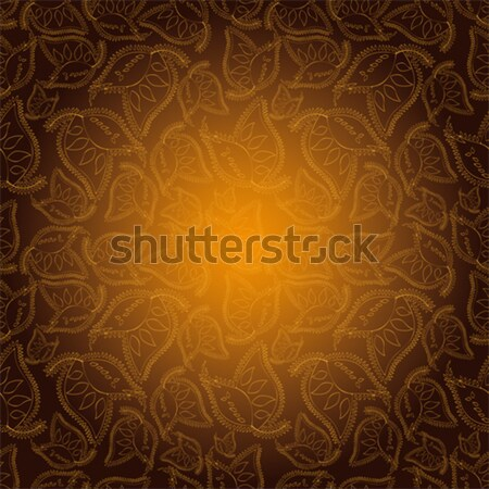 Stock photo: Abstract Paisley pattern