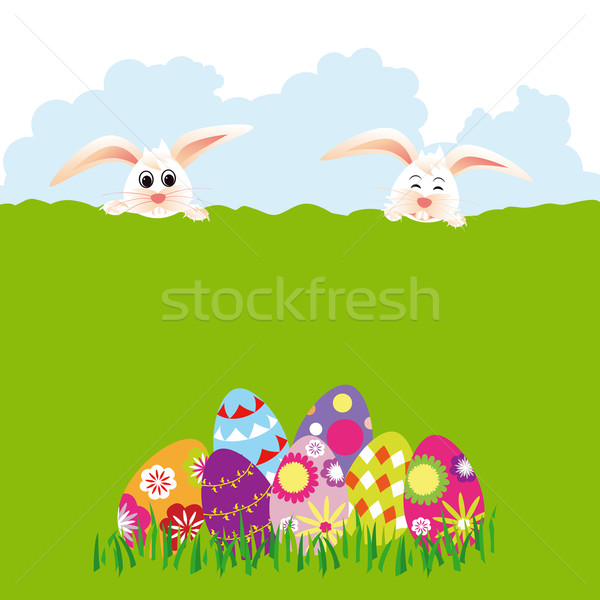 Springtime Easter holiday wallpaper Stock photo © meikis