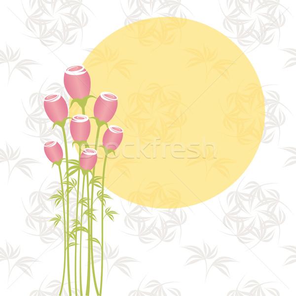 Printemps fleurs fleur mariage Photo stock © meikis