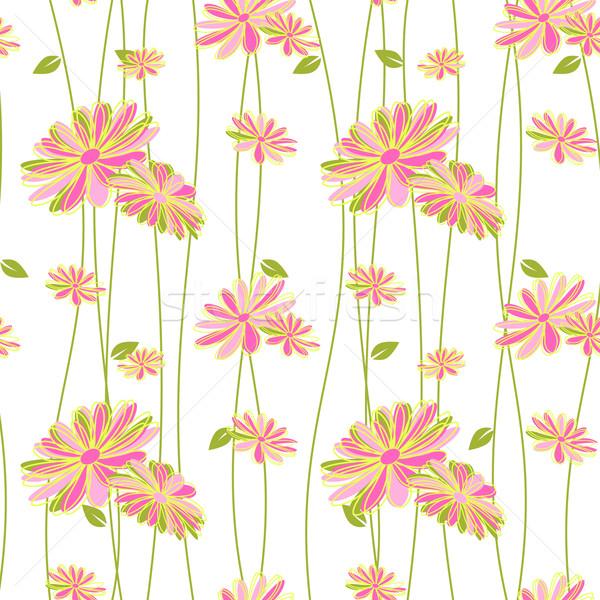 Photo stock: Coloré · fleur · wallpaper · fond · été